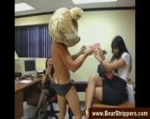 Красивая русская девушка в порно